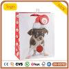 Papierbeutel, Weihnachtsbaby-Hundepapierbeutel, Geschenk-Papierbeutel