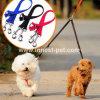 Hundenylonhundeleine des Haustier-Produkt-Zubehör-Zusatzgeräten-zwei