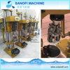 Macchina di coperchiamento della bottiglia di acqua manuale semi automatica per la protezione di alluminio