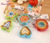 Резец печенья PP качества еды пластичный (цветок Маленьк-человека сердца звезды)