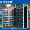 Sistema de paneles de aluminio de encofrado de pared
