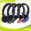 La cuffia senza fili esterna di Bluetooth mette in mostra la cuffia avricolare di Bluetooth del giocatore di musica