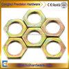 Zinc/écrous hexagonaux nickelé mince DIN439 d'écrous hexagonaux