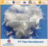 Fibra Microfiber 4mm del monofilamento della fibra sintetica pp 6mm 12mm 16mm