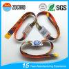 Bracelets tissés avec des bracelets de bande de festival de blocage de glissière de dents