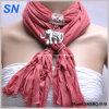Écharpe pendante de charme de collier d'éléphant (SNSMQ1019)