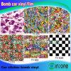 Pellicola auto di Doodle degli autoadesivi della bomba, autoadesivo della decalcomania del vinile di arte dei graffiti, pellicole di colore del cambiamento dell'automobile (TY-029-TY-034)