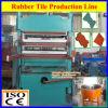 Machine en caoutchouc de natte de plancher/presse de vulcanisation natte en caoutchouc