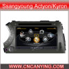 GPS를 가진 Ssangyoung Actyon/Kyron, Bluetooth를 위한 특별한 Car DVD Player. A8 Chipset Dual Core 1080P V-20 Disc WiFi 3G 인터넷 (CY-C158로)