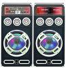 Drahtloser Bluetooth DJ Karaoke-Lautsprecher-Aufsatz-Lautsprecher mit Licht
