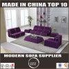 Da mobília moderna da sala de visitas de China sofá ajustado da tela