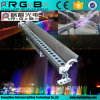 옥외를 위한 방수 27*3W RGB LED 벽 세탁기 빛