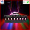 Huit yeux miroir lumière LED RVB 30W