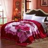 100%年のポリエステル韓国語はミンク毛布を設計する