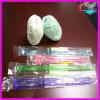 Das agulhas do fio extravagante fio 100% de algodão de confeção de malhas colorido plástico