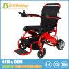 rueda sólida de la PU 8 plegable el sillón de ruedas del regulador del motor eléctrico