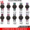 Yxl-208 2017 Promoción New Colorfull tejidos relojes de tela, reloj de nylon reloj de cuarzo deporte casual Ladies Watch