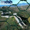 Высокое качество строительных материалов ПВХ проволочной сетки с шестигранной головкой