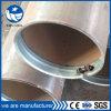 Longitudinal de carbono tubo recto de tubería de acero soldada LSAW
