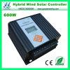 регулятор 600W 12V/24V автоматический LCD MPPT Ветр-Солнечный гибридный (QW-600SG14TA)