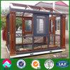 Casa de lujo de la luz del sol de la alta calidad prefabricada con control automático
