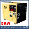 Leises Diesel Generator Set 3-phasiges Factory Price KDE6500T3