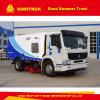 10ton ISO9000 CCC HOWO 4X2 heller Straßen-Kehrmaschine-LKW