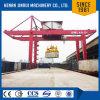 レール敷の容器の持ち上がるクレーン40tの中国の一流の製造業者