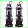 Bomba sumergible de Aguas Residuales de Qw no es fácil de usar y obstruyendo tuberías