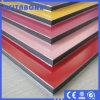 Material compuesto de aluminio PVDF de letreros
