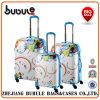 拡張可能Printed 3部分によって4動かされるSpinner Luggage Set