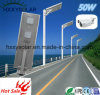 50W Bridgelux scheggia l'indicatore luminoso di via solare Integrated esterno impermeabile di IP65 LED
