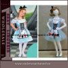 Il paese delle meraviglie splendido Costume Gown Dress per Girl (TLQZ4006)