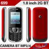 Telefone móvel da barra dupla a mais barata da G/M do cartão de SIM (699)