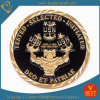 Moneta di oro su ordinazione del premio del ricordo di sfida dello smalto del bollo di promozione
