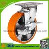 Industrielle Medium Schwer-Aufgabe Swivel Caster mit Side Brake Wheel