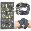 OEMの農産物ポリエステルはロゴによって印刷された昇進の首の管のスカーフをカスタマイズした