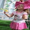 Rosafarbenes Nana-Sommer-Baby kleidet Art und Weise