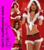 Traje sexy T847 de Santa do Natal