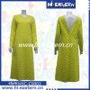 La última alineada de señora Fashion Long Sleeve Maxi del diseño 2015 con detrás abierto atractivo