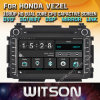 Honda Vezel를 위한 Witson Windows 접촉 스크린 차 DVD