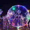 Ballon de Bobo de lumière de Noël de DEL pour la décoration de mariage