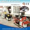 PVC/PP/PE/EVA는 기계, 플라스틱 관 압출기를 만드는 벽에 의하여 주름을 잡은 관을 골라낸다