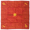 I prodotti della fabbrica della Cina hanno personalizzato il disegno hanno stampato il Bandanna rosso di Headwrap del cotone da 22 pollici