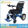 Cadeira de rodas elétrica da potência de pouco peso da liga de alumínio com capacidade de carregamento 180kg