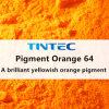 Orange Pigment 64 für das Beschichten für die meisten Polymer-Plastiken und den Nahrungsmittelkontakt