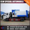 人エンジンを搭載する6-8cbmユーロ4のガーベージ配達コンパクターのトラック