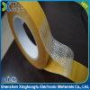De doble cara transparente de PET de cinta autoadhesiva de fibra de vidrio.
