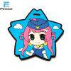 Custom Blue Star форму Cute резиновые ПВХ логотип исправлений
