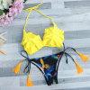 Halter Бикини купальных костюмов Waisted сексуального Swimsuit женщин бикини высокий